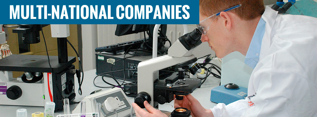 Multi-national companies in Mid West Ireland